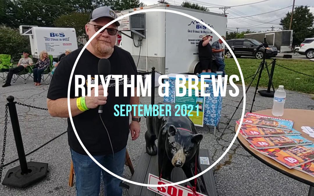Big-Doins' @Rhythm & Brews in September